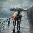 Rainy Walk by Svenja Gosen