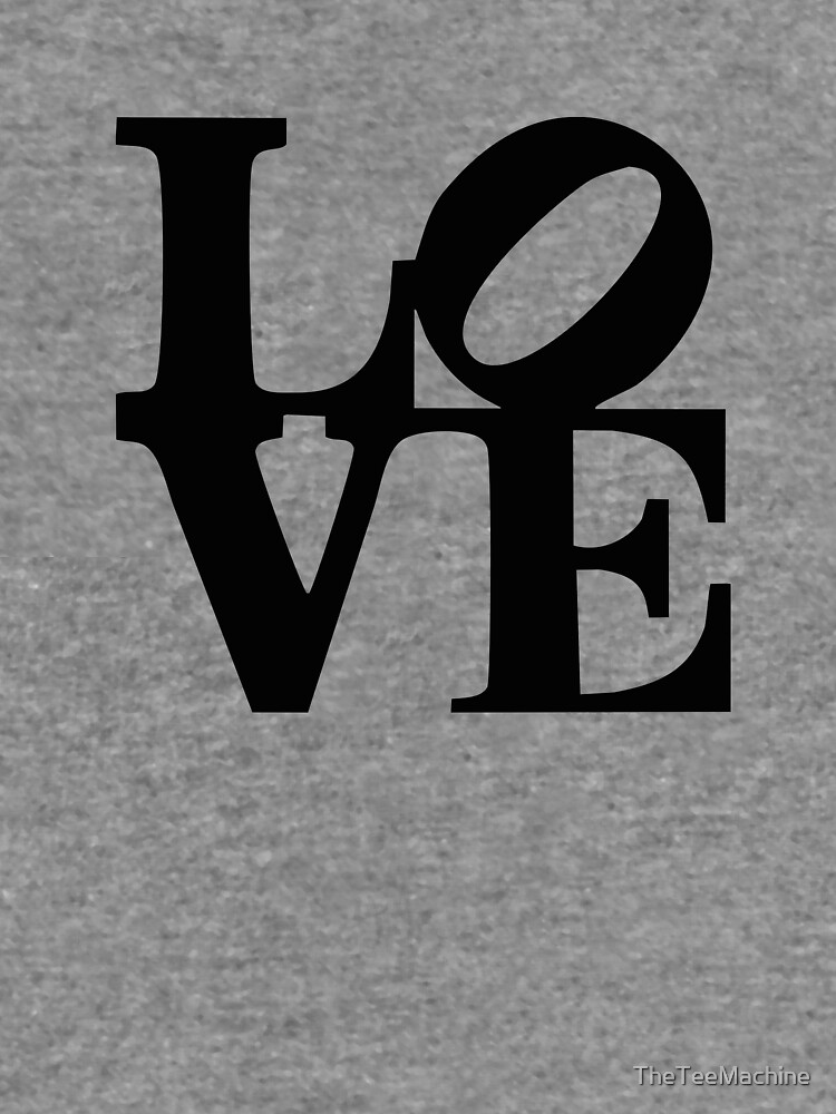 Love Park Logo Sticker T Shirt Gift For Philli Philadelphia