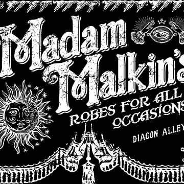 Madam Malkin's Robes for all Occasions by Mindspark1