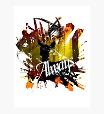 Always... Photographic Print