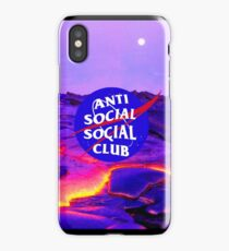 NASA Anti Social Social Club iPhone Case/Skin