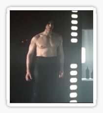 Kylo Ren Shirtless Meme Sticker