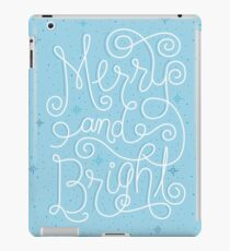 Merry and Bright Ice Blue  iPad Case/Skin