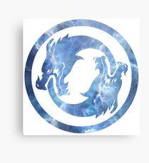 Hanzo Dragons Metal Print