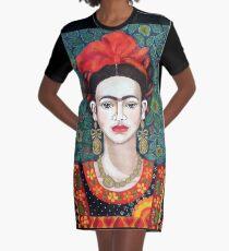 Frida,  Queen of Hearts closer I Graphic T-Shirt Dress