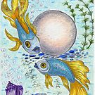 Gold Fishes and an Orb by Kashmere1646