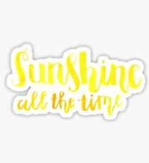 Sunshine All The Time Sticker
