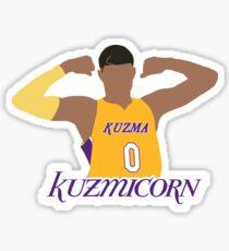 hot sale online 0cbc3 e2bac Kyle Kuzma Lakers Stickers | Redbubble