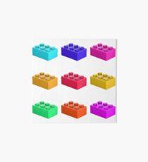 Warhol Toy Bricks Art Board
