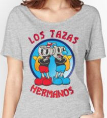 Cuphead Mugman Los Pollos Hermanos Women's Relaxed Fit T-Shirt