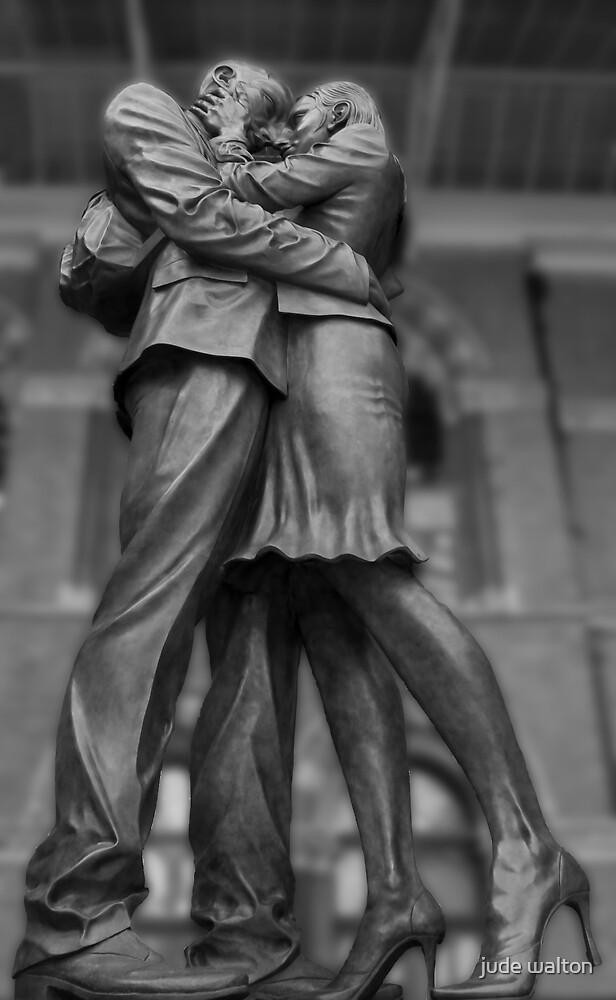London, St. Pancreas Station by jude walton