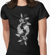 Fish container with clove sprigs Women's Fitted T-Shirt
