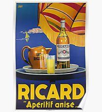 Ricard - Apéritif anisé, Werbeplakat Poster