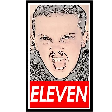 Eleven from Stranger Things by whatistv