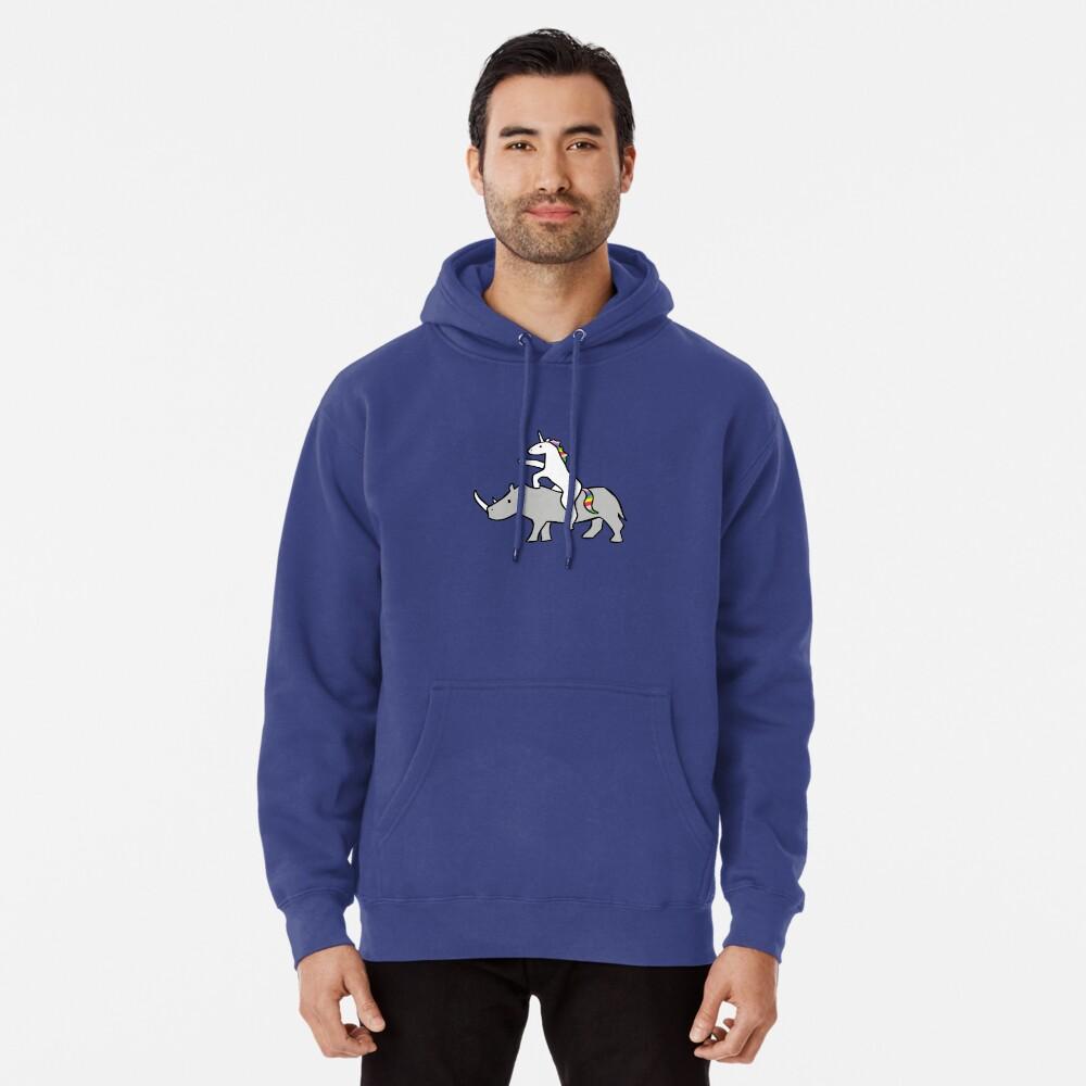Einhorn Reit Rhino Hoodie