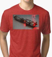 Sith Lightsaber Tri-blend T-Shirt