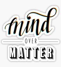 Mind Over Matter Young the Giant Sticker