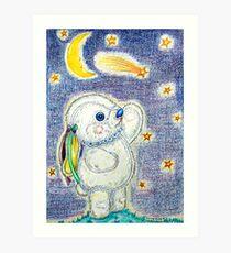 Pooky Stargazing Art Print