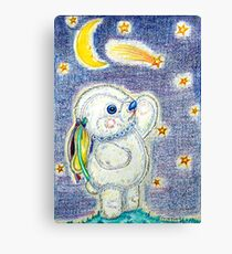 Pooky Stargazing Canvas Print
