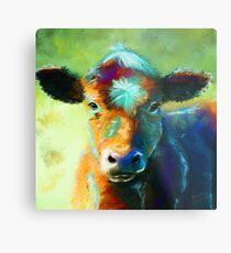 Colourful Calf Painting Metal Print