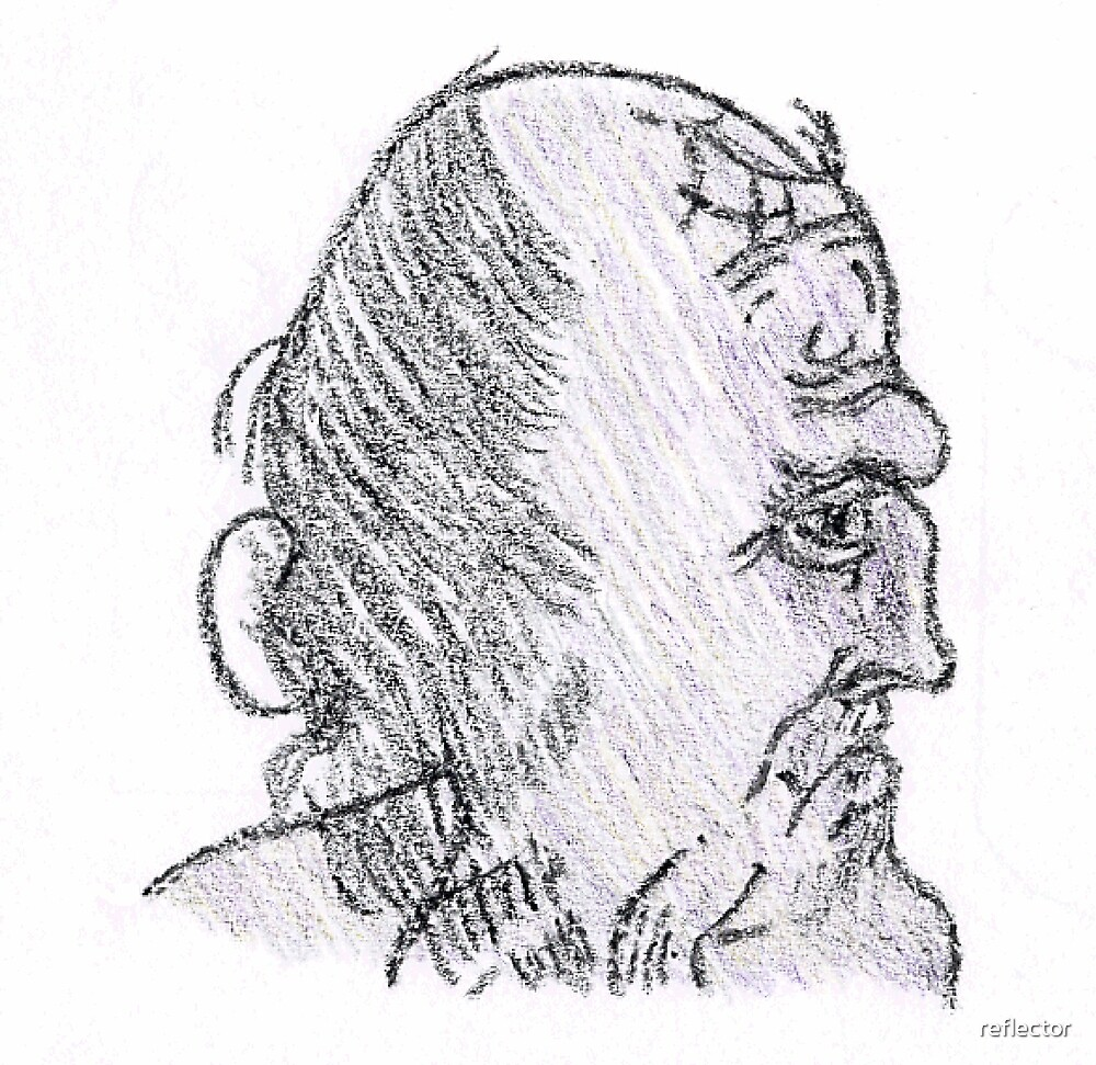 Leonardo da Vinci - Sketch by reflector