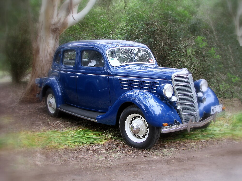 Casey's Blue Ford by Robert Jenner