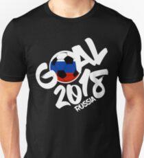 Sbornaya National Soccer Team 2018 Futbol In Russia Score Goals Unisex T-Shirt