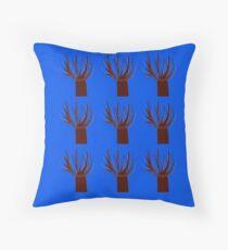 Cojín Diseñar baobabs en azul