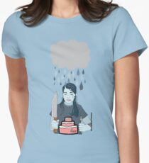 Someone Left Their Cake out in the Rain Womens Fitted T-Shirt