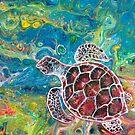 Sea Turtle Dream by Amanda  Shelton