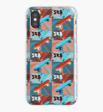 Skateboard Pop Art iPhone Case