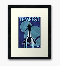 Mass Effect Andromeda Propaganda Poster Framed Print