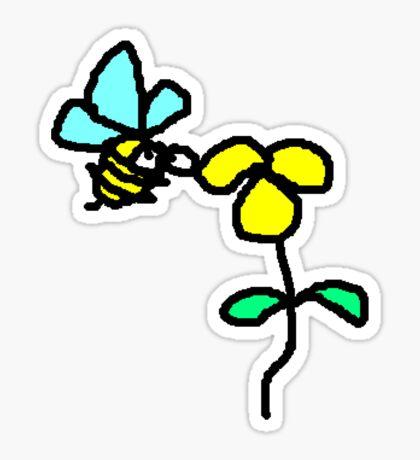Bee Ready Sticker