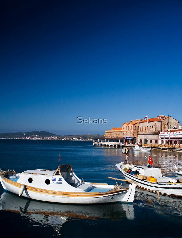 Turkish Boat by Sekans