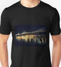 San Francisco Bay Bridge Illuminated Unisex T-Shirt