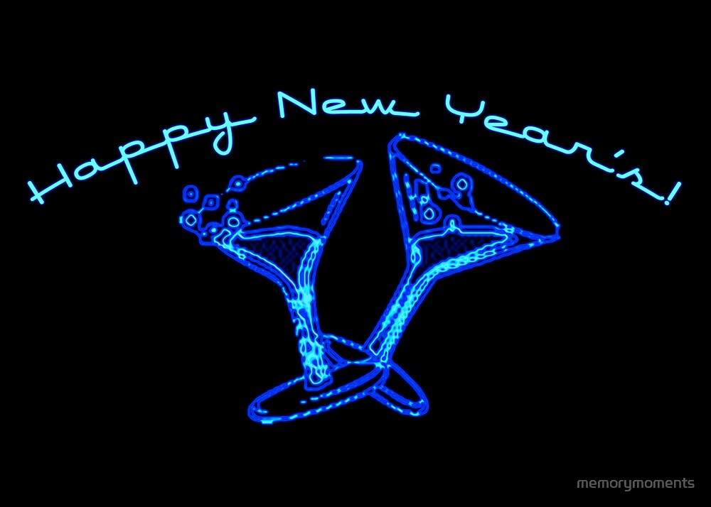happy new years! : neon light by memorymoments