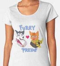 Furry Pride Women's Premium T-Shirt