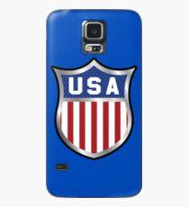 USA-Emblem-Abzeichen Hülle & Skin für Samsung Galaxy