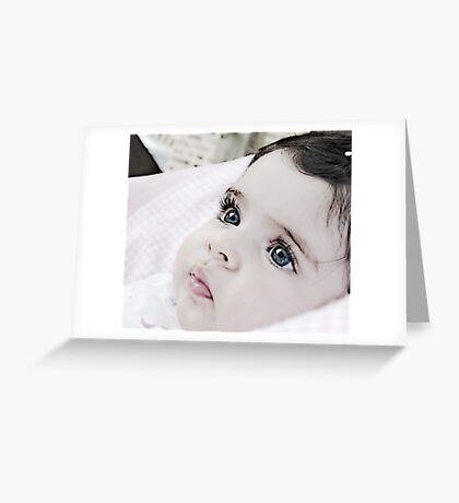 my little angel Greeting Card