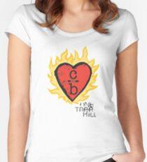 Kleidung über Bros Tailliertes Rundhals-Shirt