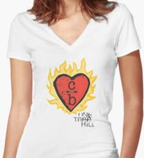 Clothes Over Bros Women's Fitted V-Neck T-Shirt