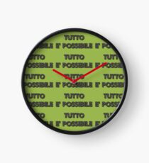 Say it in Italian-Anything is Possible Clock