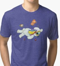 Pooky is a Snorkellin' Tri-blend T-Shirt