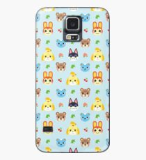 Funda/vinilo para Samsung Galaxy Animal Crossing - Azul