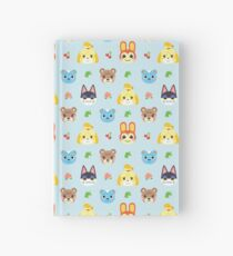 Animal Crossing - Blue Hardcover Journal