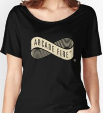 Arcade Fire Live On Stage Women's Relaxed Fit T-Shirt