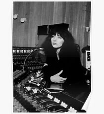 Kate Bush Studio Poster