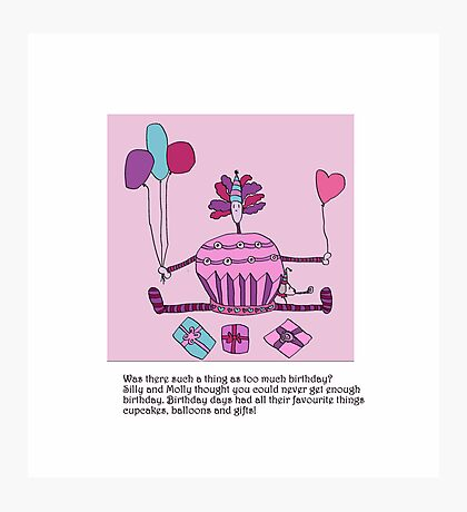 Silly Birthday Photographic Print