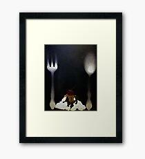 Sweet L by Tony DuPuis Framed Print