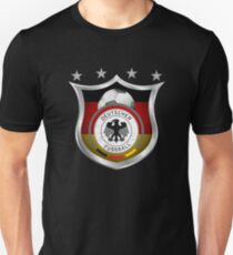 Germany Soccer Shield for World Cup Support Unisex T-Shirt